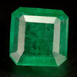 Octagon Facet Emerald