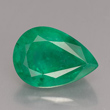 Pear Facet Emerald