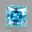 Bright Blue Zircon
