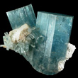 Deep Blue Aquamarine Crystals