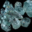 Gem-grade rough Aquamarine