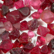 Red Spinel Crystals