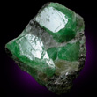Tsavorite Crystals on Matrix