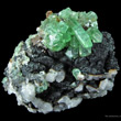 Green Anglesite Crystals