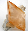 Large Orange Calcite Scalenohedron