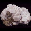 White Calcite Rhombs