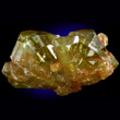 Chrysoberyl Yellow-Green Twinned Crystals