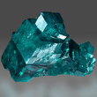 Large Dioptase Compound Crystal