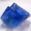 Bright Blue Fluorite Cubes