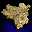 Crystallized Gold Octahedrons