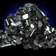 Schorl Tourmaline Crystal Group