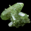 Green Vesuvianite Crystal Cluster