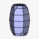 Pyramidal Hexagonal Barrel